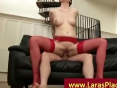 aged lady in nylons having sex