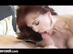 latin aged wife has her feet drilled large tits