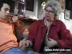 european granny goes wild