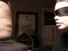 tasty wife engulfing blindfolded
