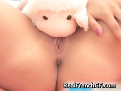 astonishing blond masturbating her worthy part5