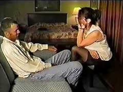 cuckold spouse hires a female escort for his wife