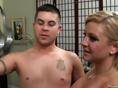 wife exchange turns into three-some