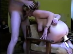 whore wife fastened and facialed