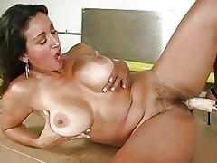 tanned breasty mother i receives drilled by