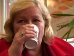 massive titted granny tastes tasty schlong