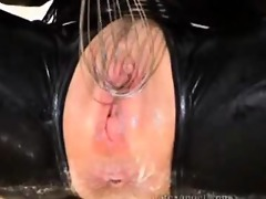 extraordinary latex wife outlandish filthy