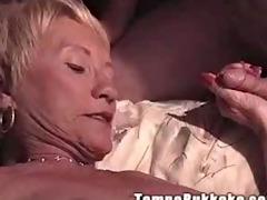 granny gang group-sex party