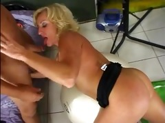 hot older blonde cougar stephanie