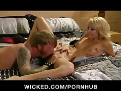 horny blonde wife slut has constricted soaked fur