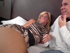 hawt golden-haired mother i receives screwed