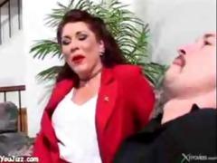 cougar stepmom bonks stepson d like to fuck a-hole