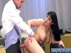 naughty doctor treat sexy concupiscent pacient