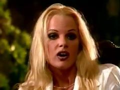 smokin blond porn star