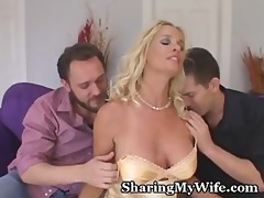 hot wife controls her sex slaves