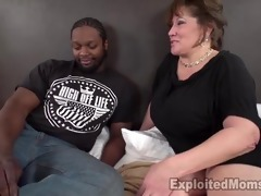 hawt mom with massive love melons takes bbc