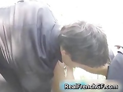 lustful french nun screwed outside porno part6