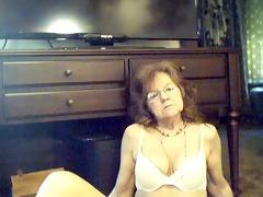 103 y.o. pleasant hot granny with lengthy hair