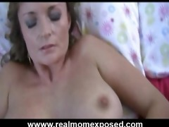 lewd mother i dildoing and receive rub by