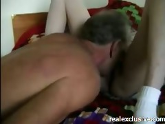 bedroom pleasure older australian peasant pair