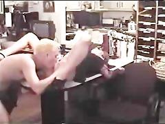 naughty secretary takes boss ramrod