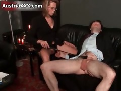 filthy aged floozy goes eager thrashing part1