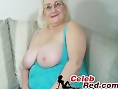 golden-haired granny oral