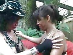 lewd aged goes lezzie with a mother i