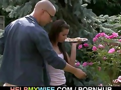 hawt wife cuckolds her old spouse