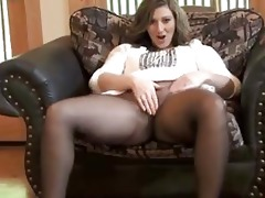 sexy mother i getting off in seamless pantyhose