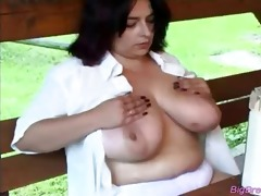 massive love melons playgirl squizing hard