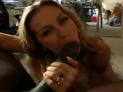 blowjob job, older & bbc: darien ross &