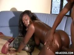 older ebony playgirl aryana starr with a dark