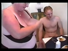 big beautiful woman threesome #3 (fat granny
