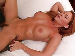 hot aged non-professional wife interracial