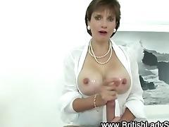 breasty whore receives jizz flow