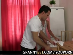 massage leads to dick engulfing and riding