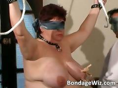 bound up plump mature wench enjoying part6