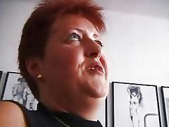 slutty redhead aged german