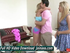 brandi love and lia lor golden-haired lesbo