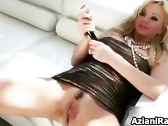 blond cougar mom with her giant part9