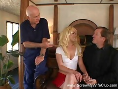 wife acquires screwed, makes hubby smile!