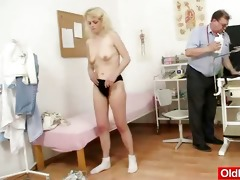 slim granny isabela with extremly shaggy cunt