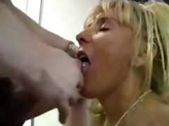 older breasty cougar fucks younger lad