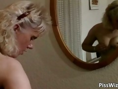 old bitch getting her vagina screwed part1