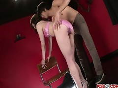 tomoka sakurai in underware receives her bawdy