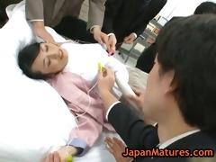 mature natsumi kitahara in hawt oriental team