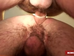 sexually excited daddies fucking a man