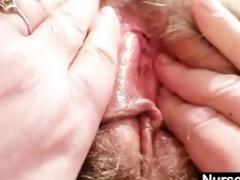 breasty lady irma got extremly hairy slit