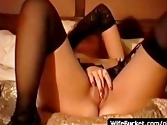 hawt wife plays a obscene hooker